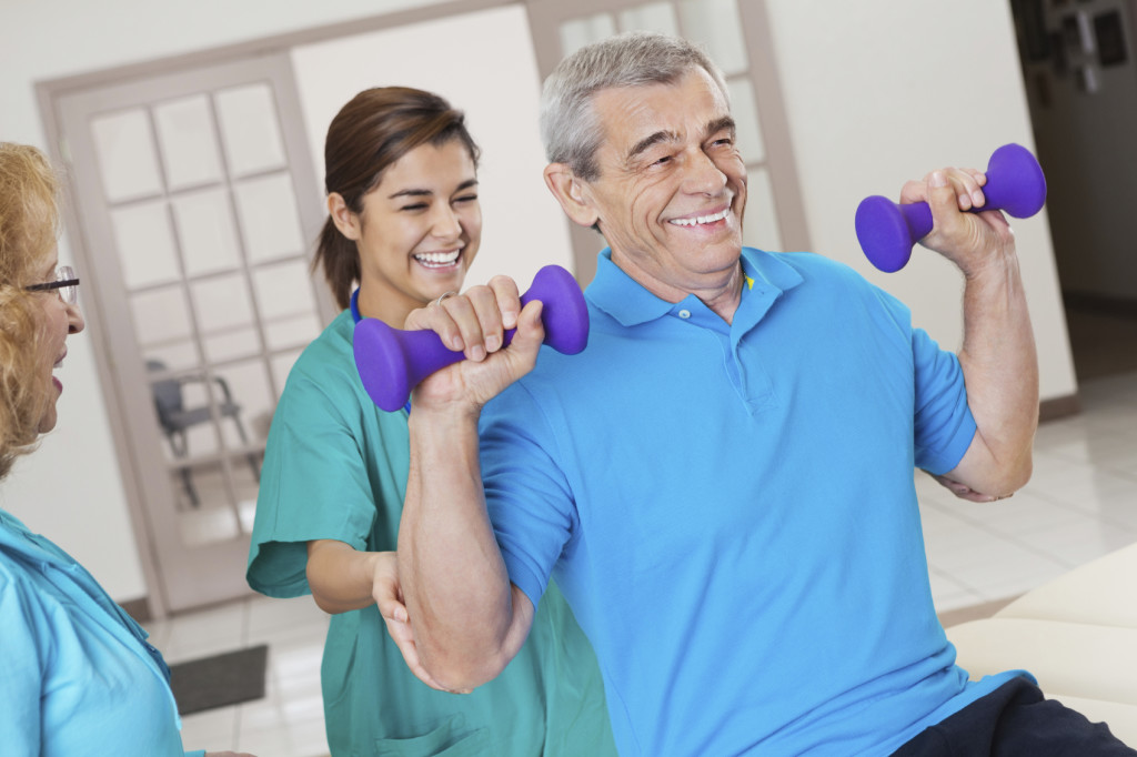 Rehabilitation & Therapy at Park Manor of CyFair nursing home in the northwest area of Houston in CyFair, TX.
